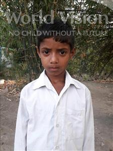 Choose a child to sponsor, like this little boy from Vaishali, Ankit age 8