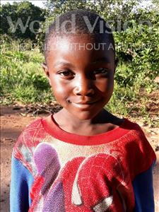 Choose a child to sponsor, like this little boy from Kazuzo, Zito Amandio age 6