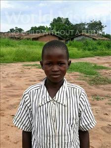 Choose a child to sponsor, like this little boy from Kazuzo, Alexandre Bernardo age 11