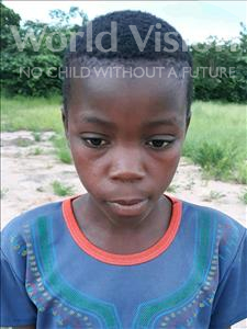 Choose a child to sponsor, like this little boy from Kazuzo, Joao Maulita age 12