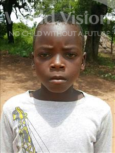 Choose a child to sponsor, like this little boy from Kazuzo, Candido Amade age 10