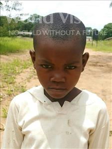 Choose a child to sponsor, like this little boy from Kazuzo, Osorio Simiao age 7