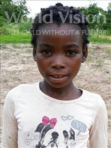 Choose a child to sponsor, like this little girl from Kazuzo, Fatima Chuva age 12