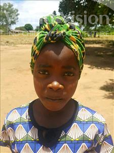 Choose a child to sponsor, like this little girl from Kazuzo, Maria Jorge age 9