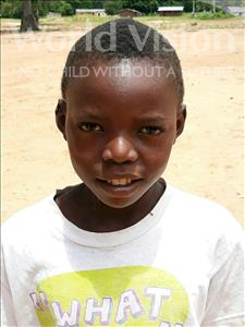 Choose a child to sponsor, like this little boy from Kazuzo, Patricio Lourenco age 7