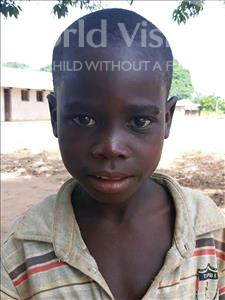 Choose a child to sponsor, like this little boy from Kazuzo, Hortencio Agostinho age 9