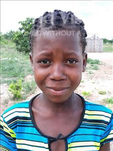 Choose a child to sponsor, like this little girl from Kazuzo, Dulce Cardoso age 10