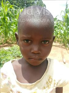 Choose a child to sponsor, like this little Girl from Kazuzo, Ivete Alberto age 4