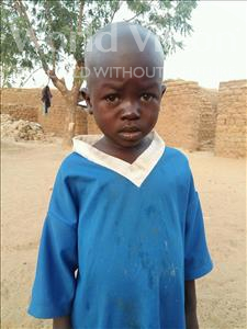 Choose a child to sponsor, like this little boy from Sirba, Ismael age 5