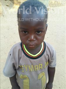 Choose a child to sponsor, like this little boy from Sirba, Kassoum age 3