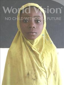 Choose a child to sponsor, like this little girl from Komabangou, Balkissa age 7