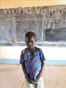 Choose a child to sponsor, like this little boy from Komabangou, Samahilou age 7