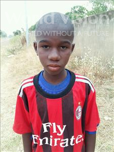 Choose a child to sponsor, like this little boy from Mbella, Diene age 12