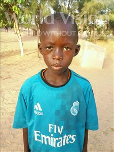 Choose a child to sponsor, like this little boy from Mbella, Amath age 10