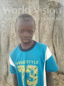 Choose a child to sponsor, like this little Boy from Mbella, Birame age 9