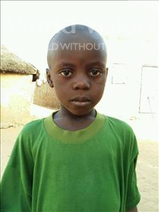 Choose a child to sponsor, like this little boy from Mbella, Djibril age 8