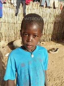 Choose a child to sponsor, like this little boy from Mbella, Babou age 7