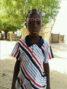Choose a child to sponsor, like this little boy from Mbella, Sitor age 8