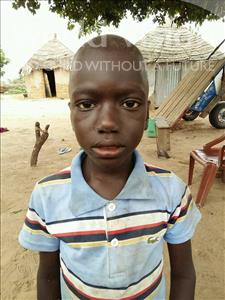 Choose a child to sponsor, like this little boy from Mbella, Ousseynou age 9