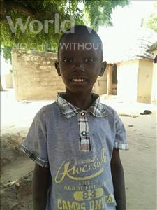 Choose a child to sponsor, like this little boy from Mbella, Souleye age 6