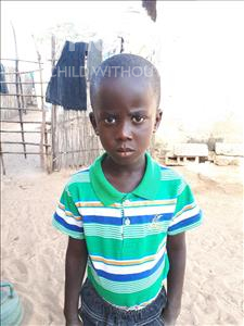 Choose a child to sponsor, like this little boy from Mbella, Mamadou age 5