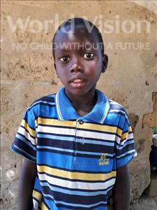 Choose a child to sponsor, like this little boy from Mbella, Ablaye Latyr age 7