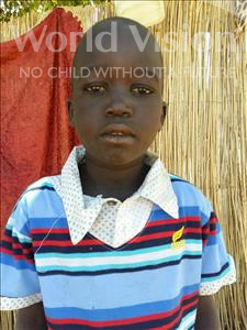 Choose a child to sponsor, like this little boy from Mbella, Diene age 7