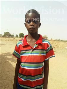 Choose a child to sponsor, like this little boy from Mbella, Ablaye age 7