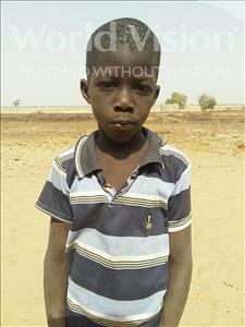 Choose a child to sponsor, like this little boy from Mbella, Mouhameth age 8