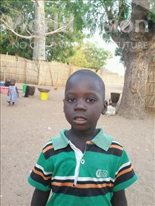 Choose a child to sponsor, like this little boy from Mbella, Ousmane age 4