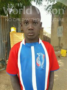 Choose a child to sponsor, like this little boy from Mbella, Mamadou age 7