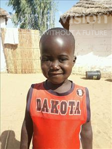 Choose a child to sponsor, like this little boy from Mbella, Checkoul Khadim age 3