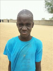 Choose a child to sponsor, like this little boy from Mbella, Diamane age 7