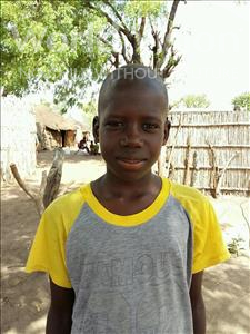 Choose a child to sponsor, like this little boy from Loul, Ibrahima age 13