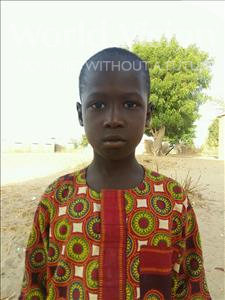 Choose a child to sponsor, like this little boy from Loul, Andre Diegane age 8