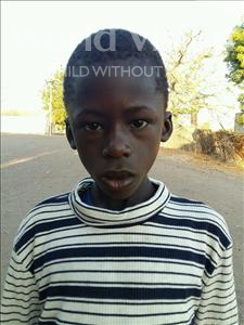 Choose a child to sponsor, like this little boy from Loul, Edouard Diene age 10