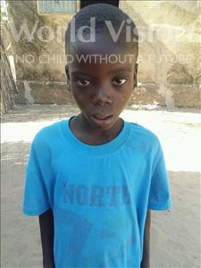 Choose a child to sponsor, like this little boy from Loul, Latyr age 9