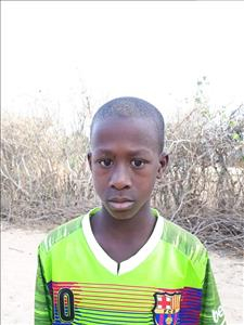 Choose a child to sponsor, like this little boy from Loul, Adama age 12