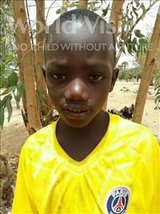 Choose a child to sponsor, like this little boy from Loul, Mindor Ndeb age 7