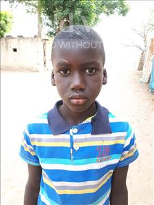 Choose a child to sponsor, like this little boy from Loul, Jean Noel age 8