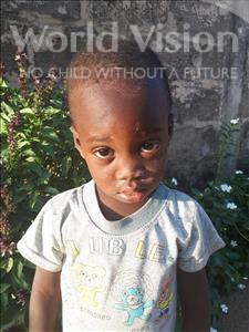 Choose a child to sponsor, like this little boy from Loul, Jean Baptiste age 2