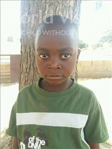 Choose a child to sponsor, like this little boy from Loul, Paul Fary age 5