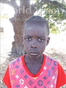 Choose a child to sponsor, like this little boy from Loul, Jean Semou Cheikh age 9