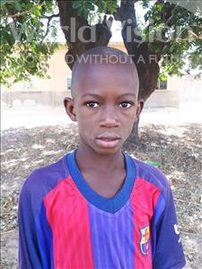 Choose a child to sponsor, like this little boy from Loul, Thomas Diegane age 10