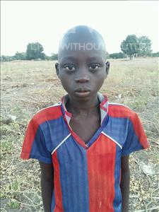 Choose a child to sponsor, like this little boy from Loul, Michel age 12