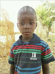 Choose a child to sponsor, like this little boy from Loul, Moussa Charles age 6