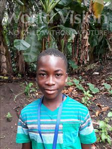 Choose a child to sponsor, like this little boy from Jong, Augustine age 13