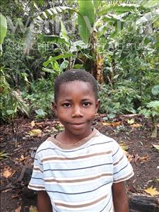 Choose a child to sponsor, like this little boy from Jong, Sheku age 9