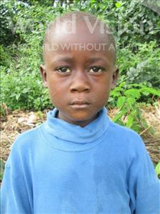 Choose a child to sponsor, like this little boy from Jong, Sheku age 7