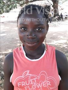 Choose a child to sponsor, like this little girl from Jong, Ginnah age 11